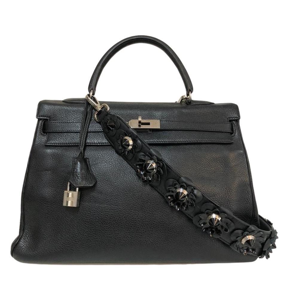 Bolsa Hermès Kelly Preta
