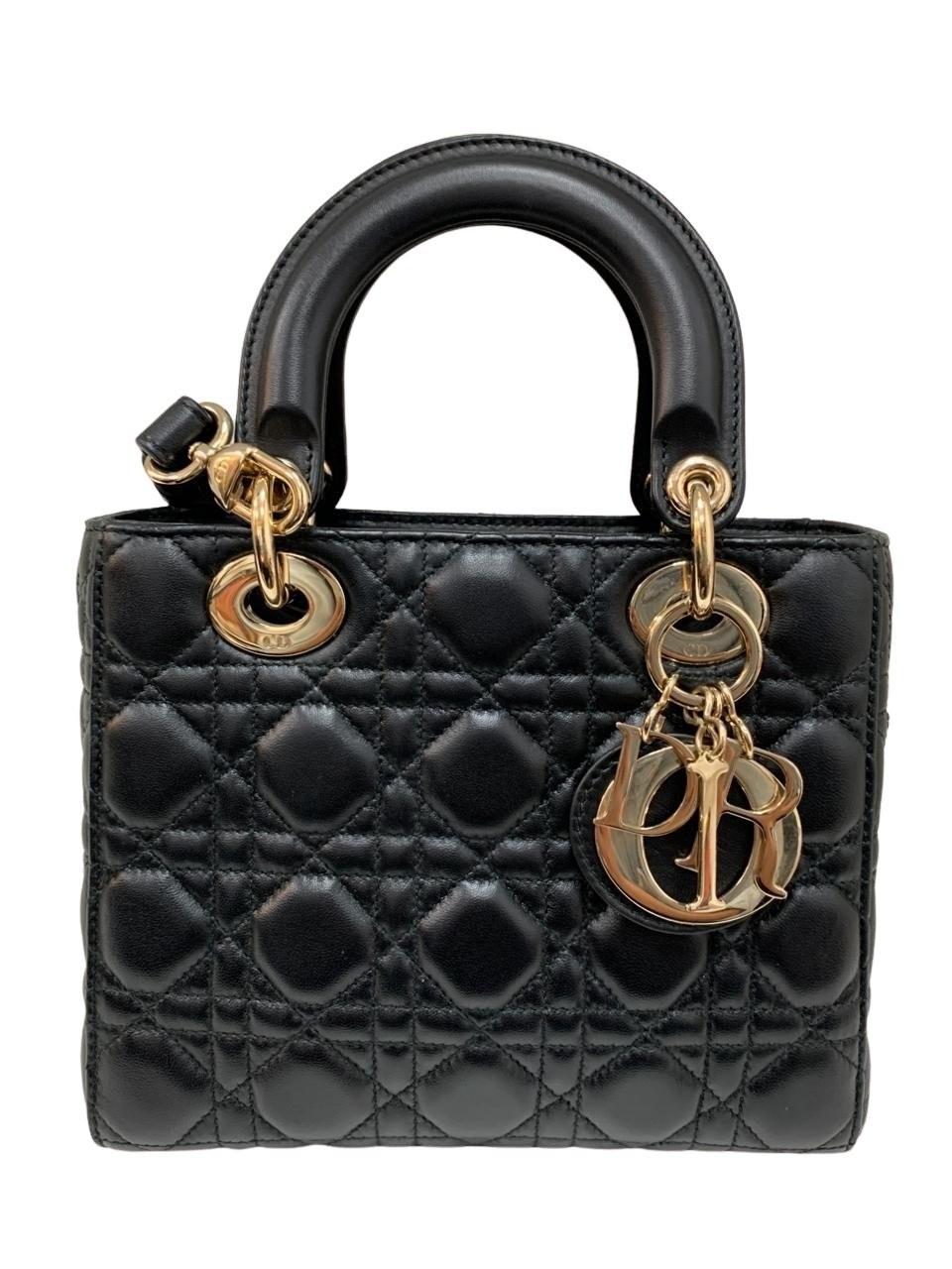 Bolsa Lady Dior Preta