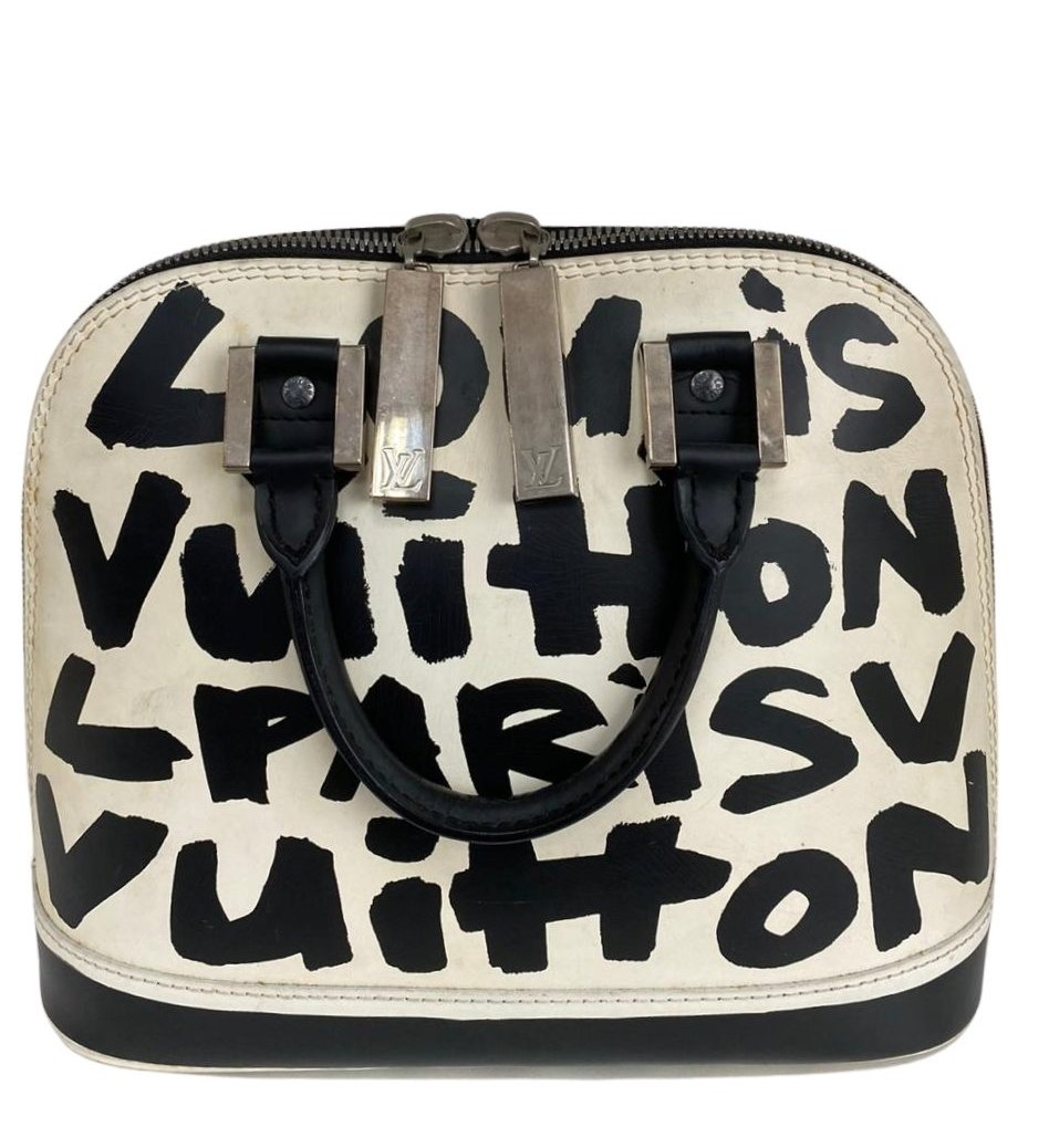 Bolsa Louis Vuitton Graffiti Alma Stephen Sprouse