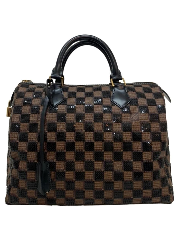 Bolsa Louis Vuitton Limited Edition Damier Paillettes Speedy 30