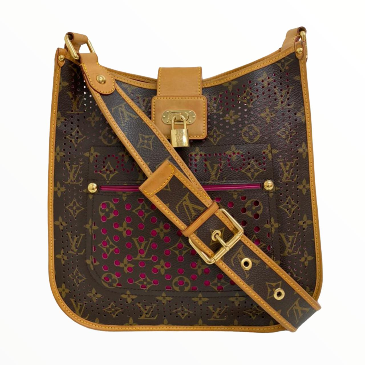 Bolsa Louis Vuitton Limited Edition Perforated Musette