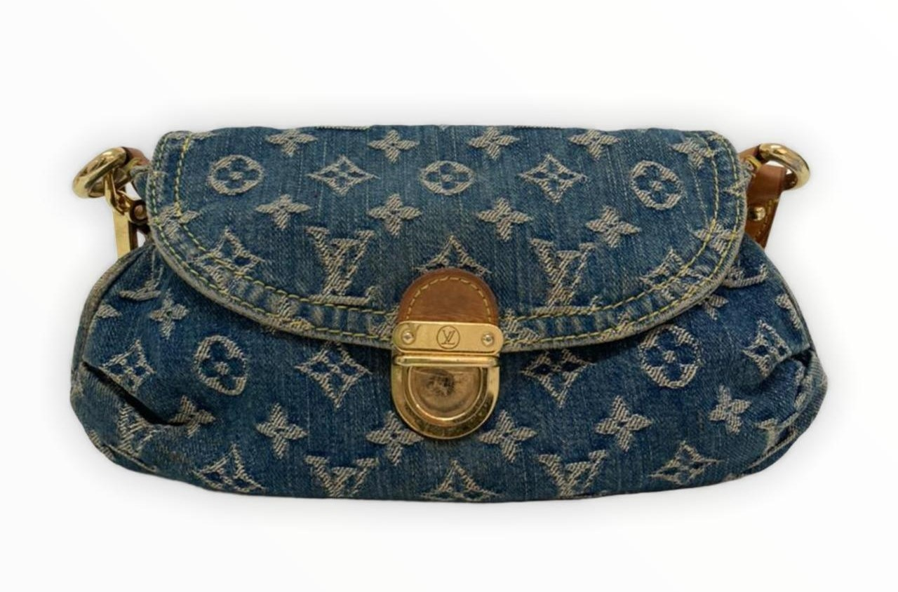 Bolsa Louis Vuitton Mini Pleaty Denim