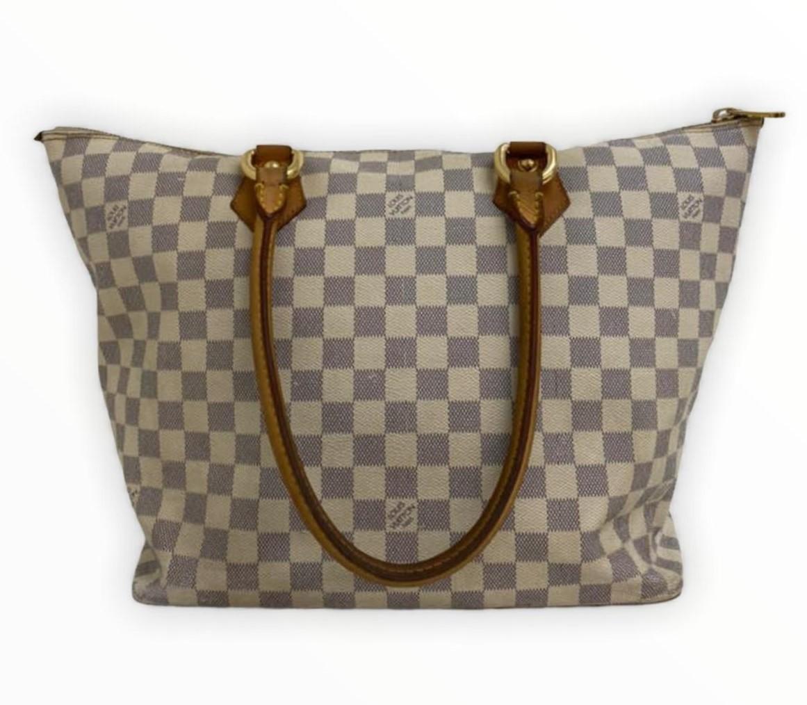Bolsa Louis Vuitton Saleya Damier Azur