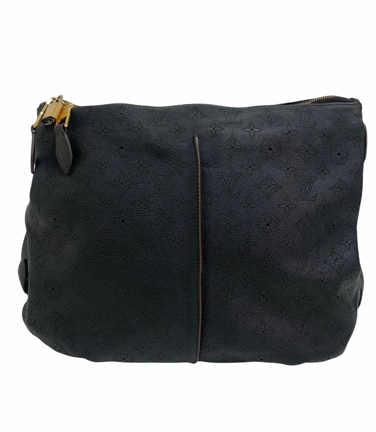 Bolsa Louis Vuitton Selene Mahina Leather MM