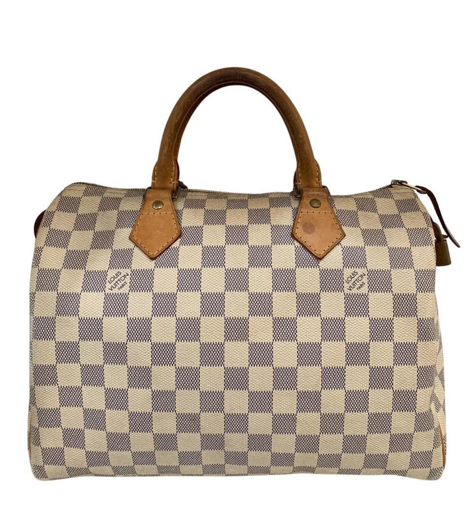 Bolsa Louis Vuitton Speedy Damier Azur