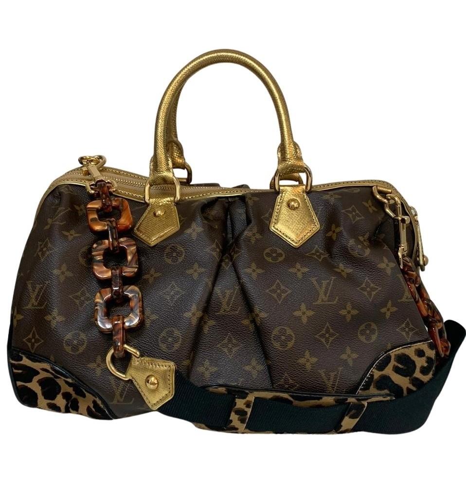 Bolsa Louis Vuitton Stephen Leopard Edição Limitada