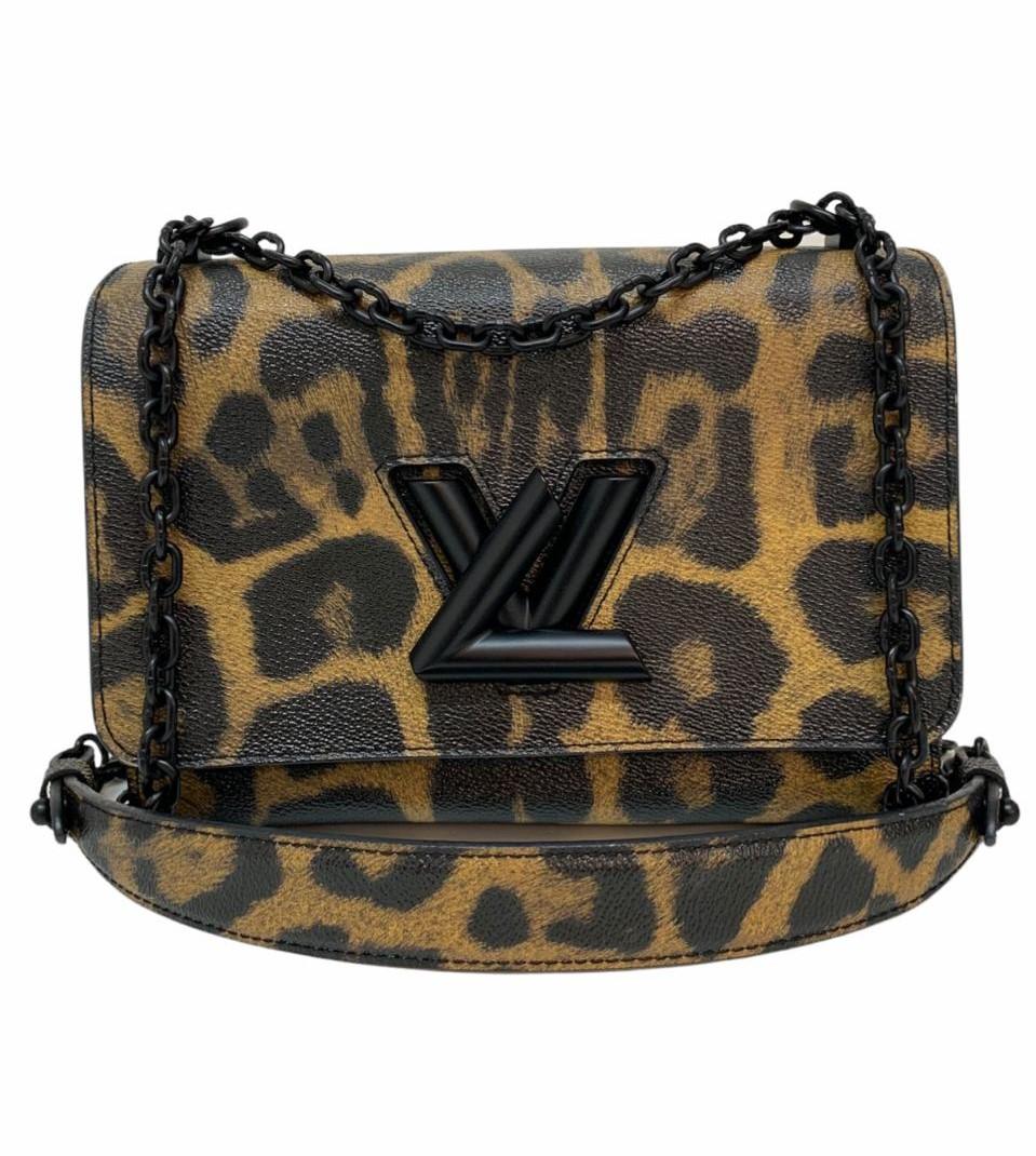 Bolsa Louis Vuitton Twist Leopard Print