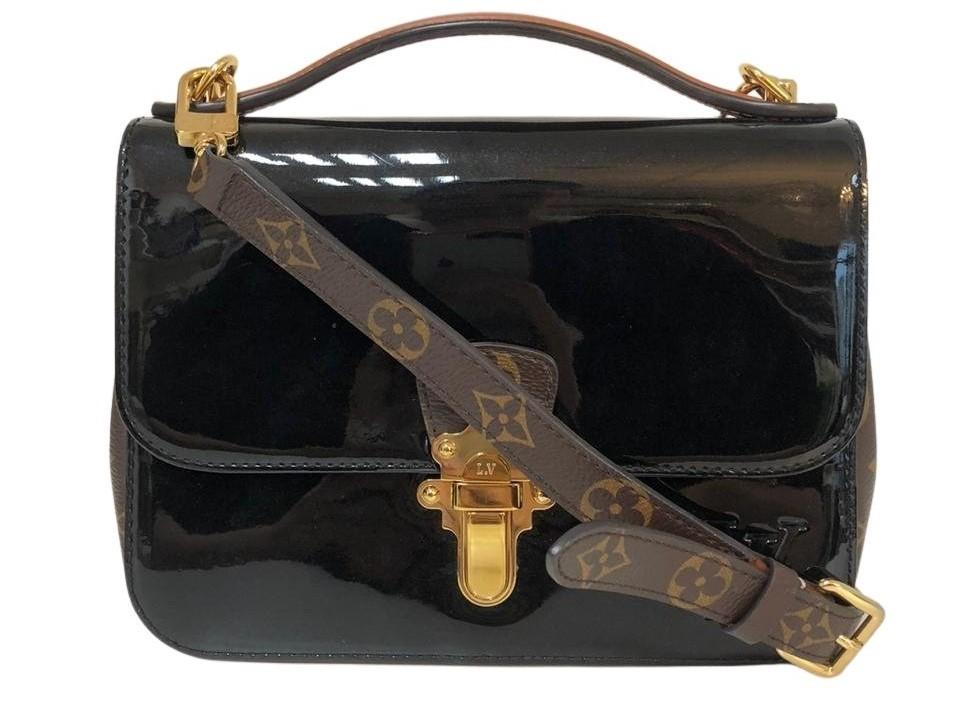 Bolsa Louis Vuitton Verniz Preta