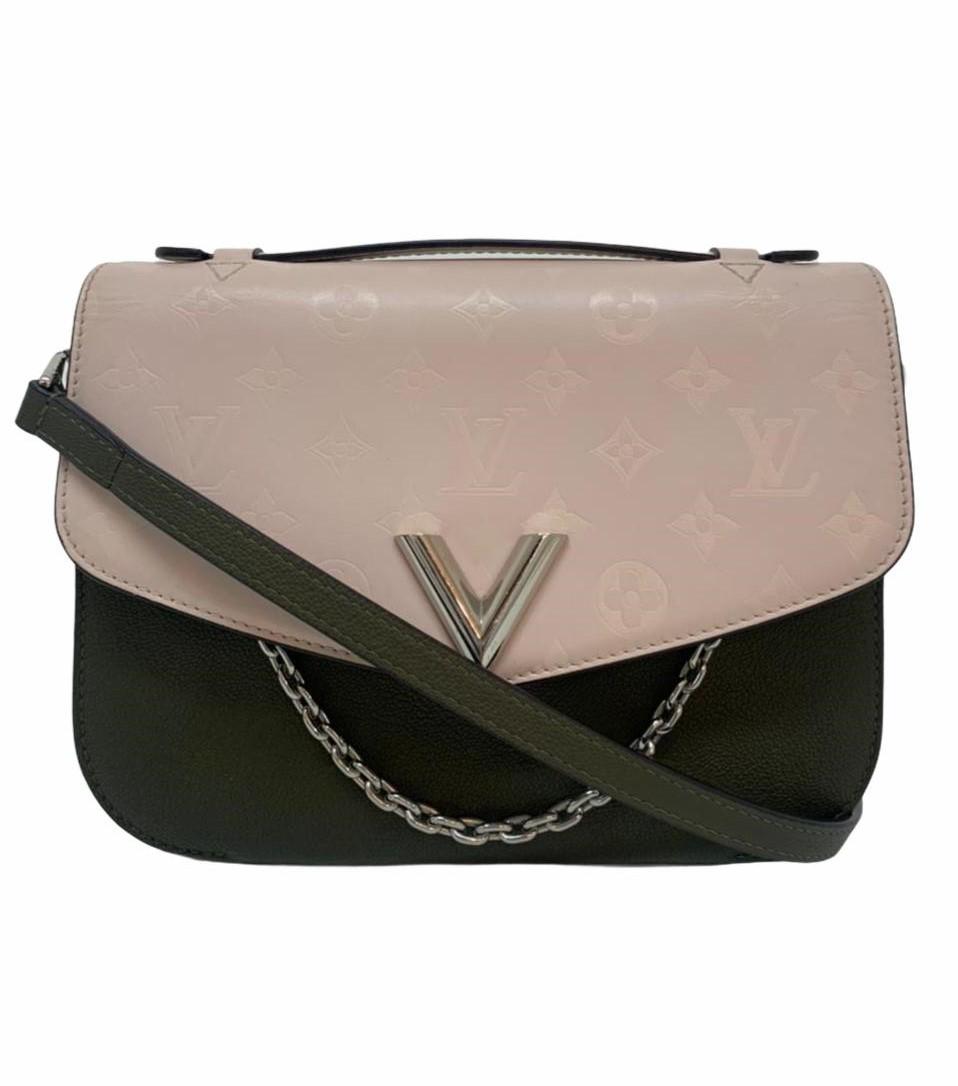 Bolsa Louis Vuitton Very Messenger Pink/Khaki Monogram