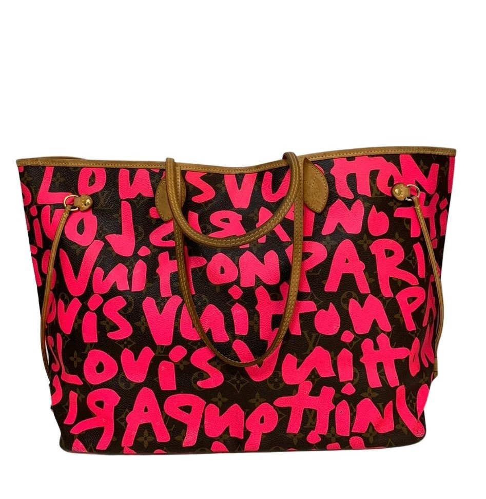 Bolsa Louis Vuitton x Stephen Sprouse Graffiti Neverfull Limited Edition