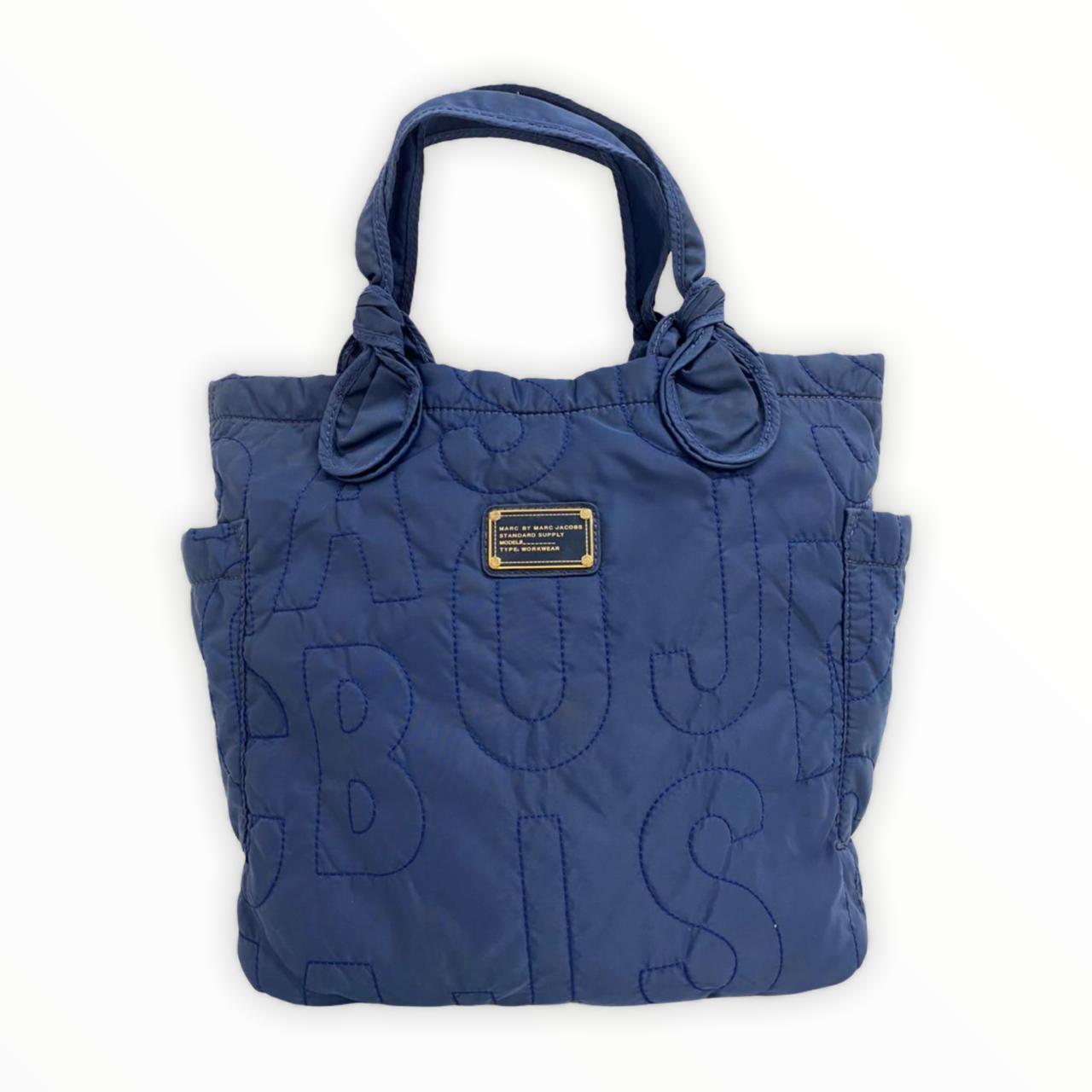 Bolsa Marc Jacobs Pretty Nylon Medium Tote Azul
