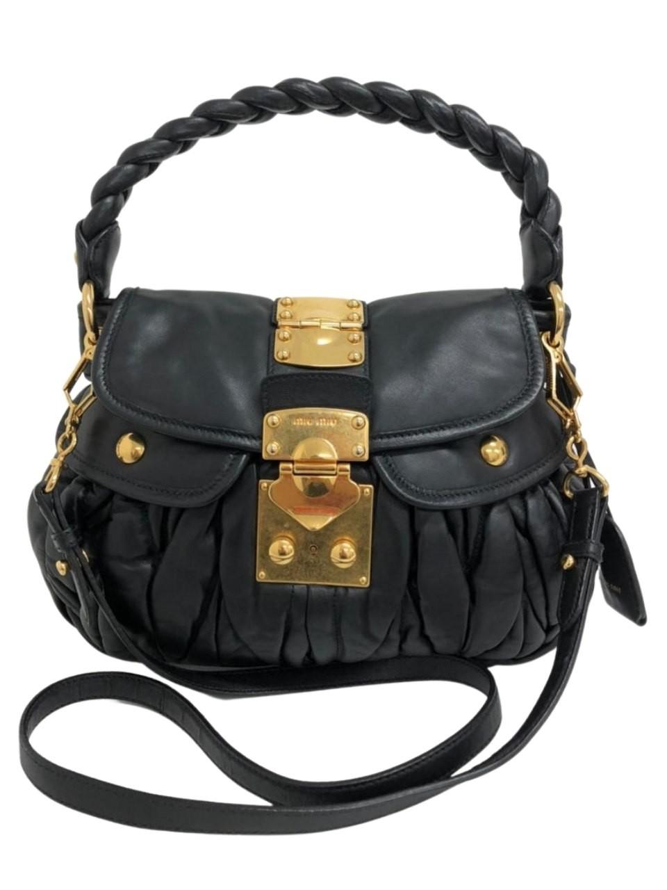 Bolsa Miu Miu Linen Coffer