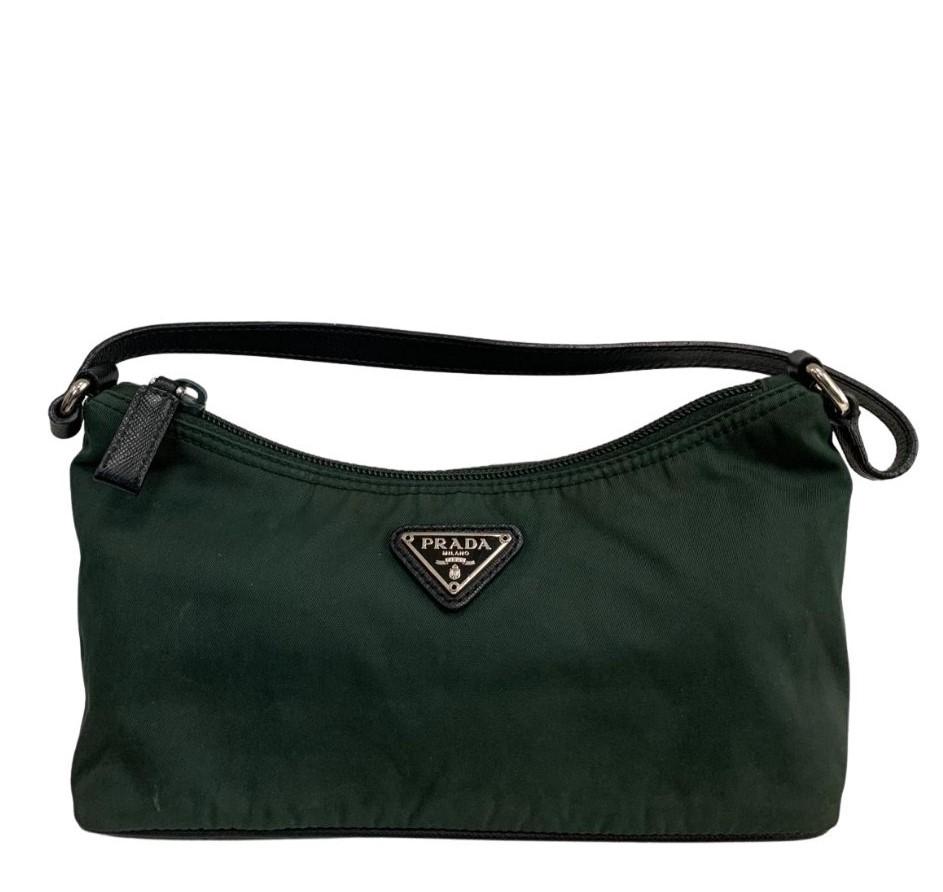 Bolsa Prada Handbag Nylon Verde