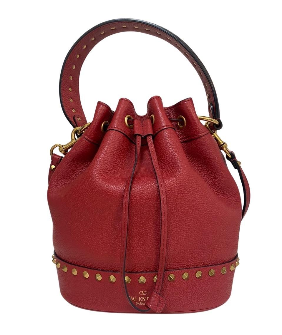 Bolsa Valentino Bucket Vermelha