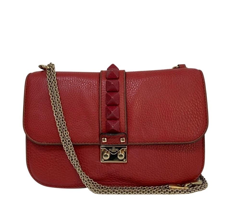 Bolsa Valentino Lock Vermelha