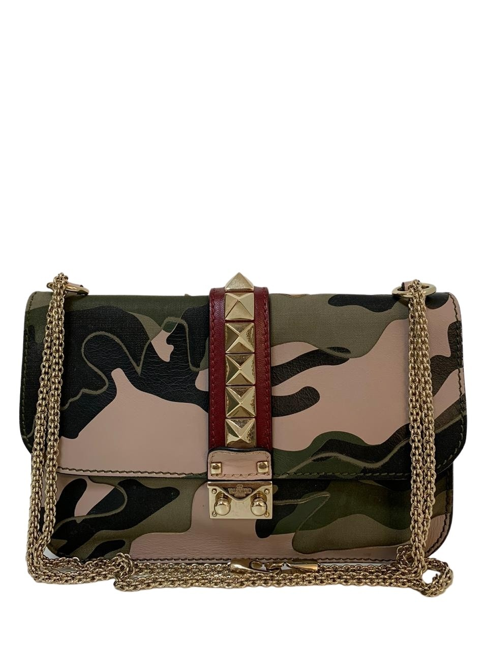 Bolsa Valentino Rockstud Camouflage