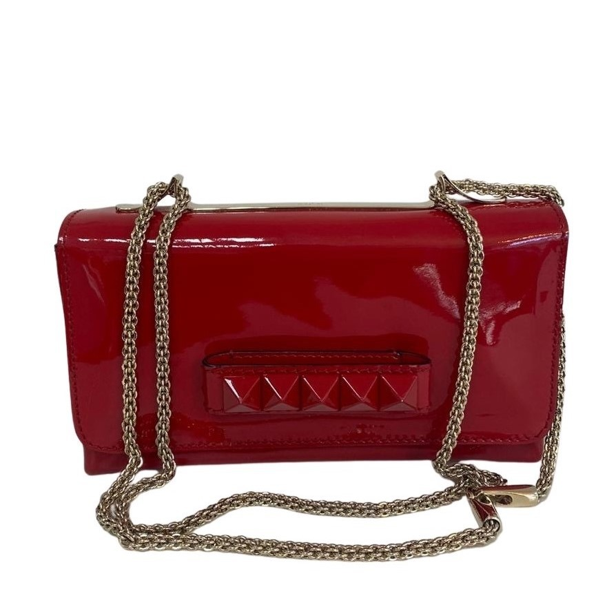 Bolsa Valentino Va Va Voom Verniz Vermelha