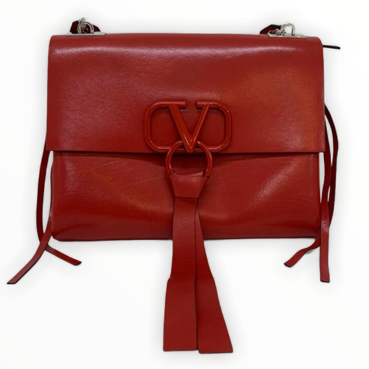 Bolsa Valentino VRing Vermelha