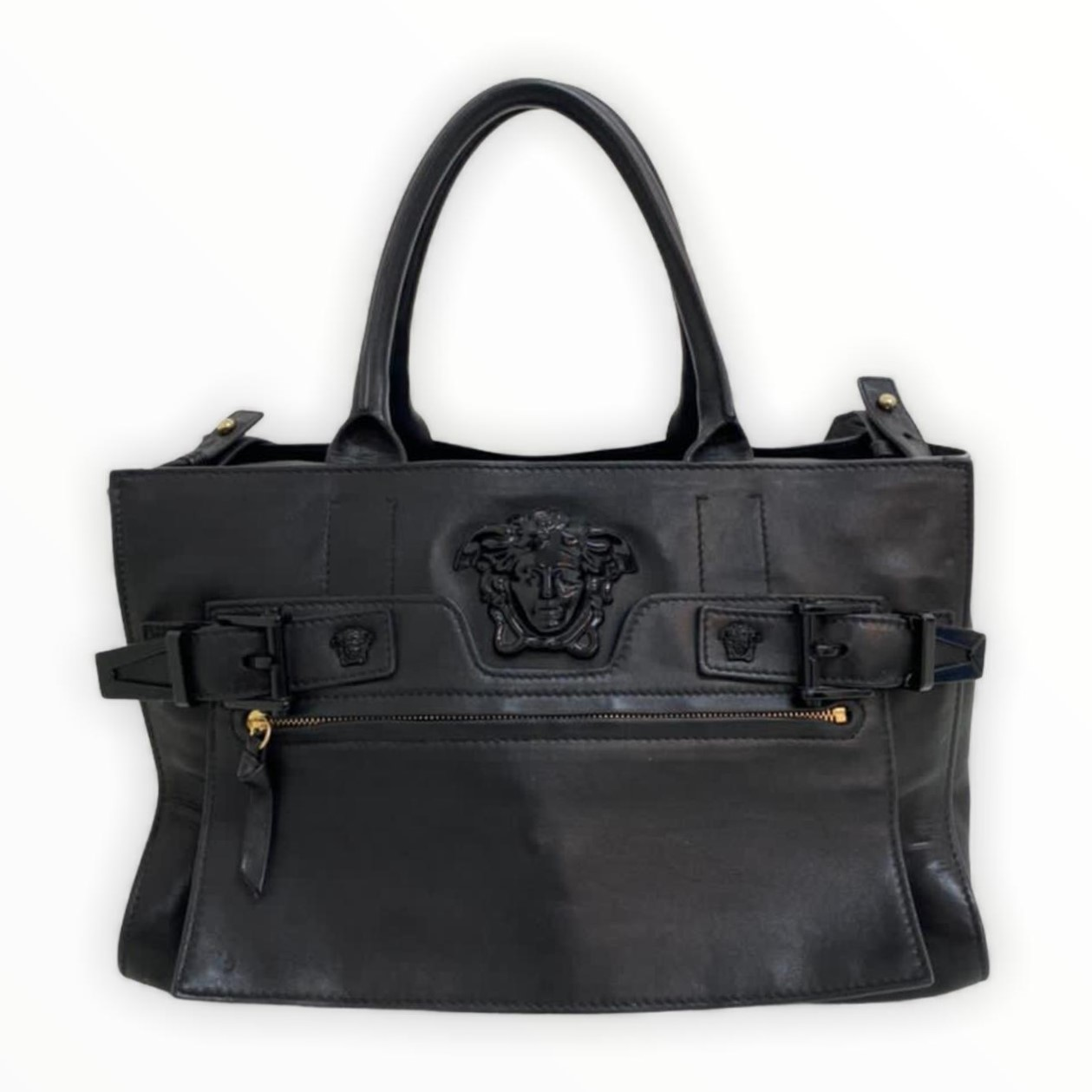 Bolsa Versace Preta Tote