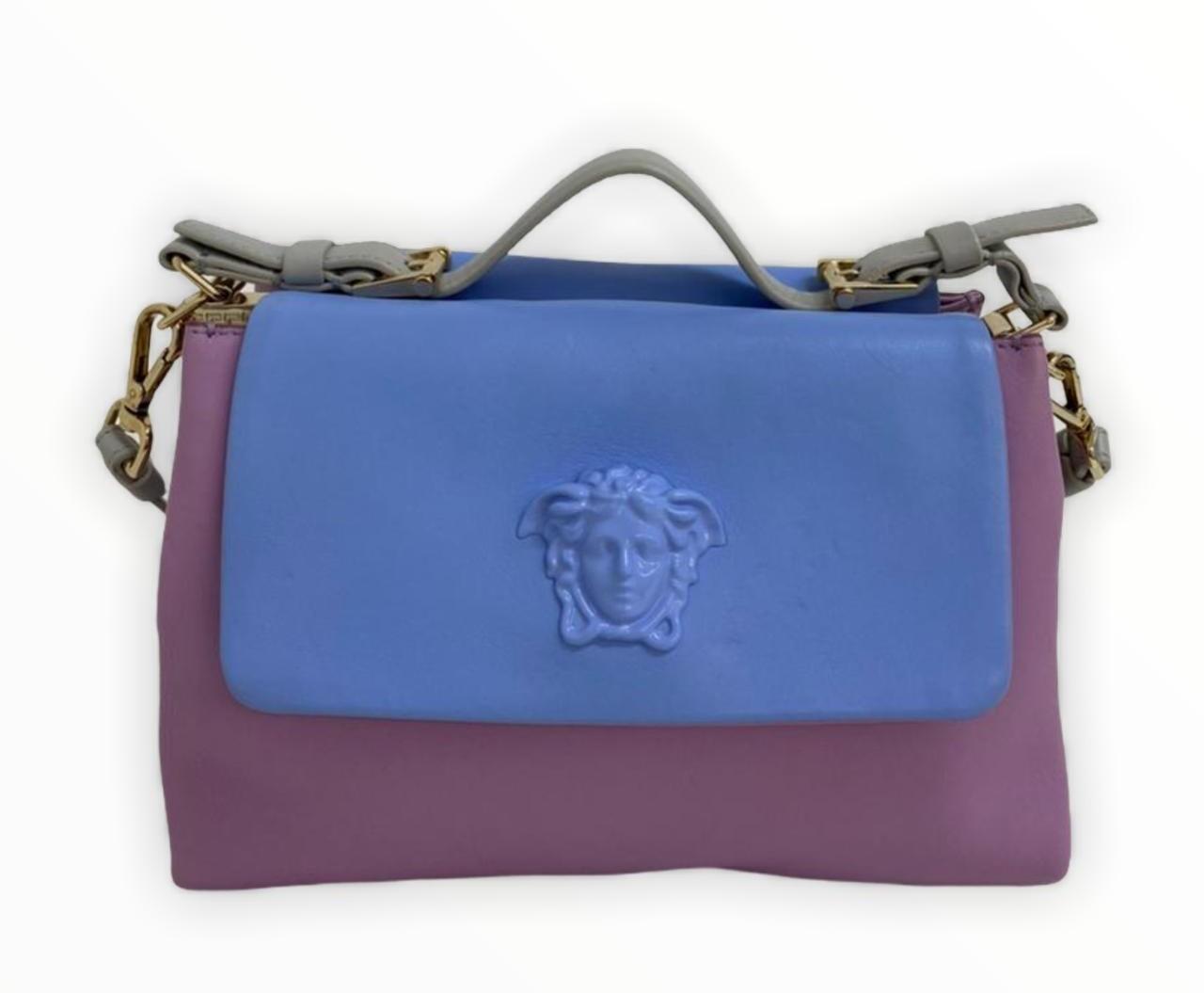 Bolsa Versace Two-Tone Medusa