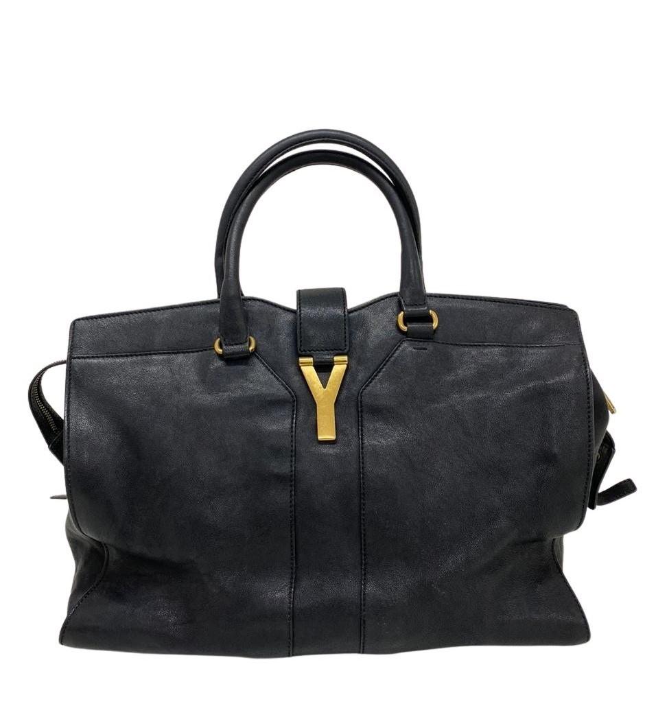 Bolsa Yves Saint Laurent Cabas Chyc Preta