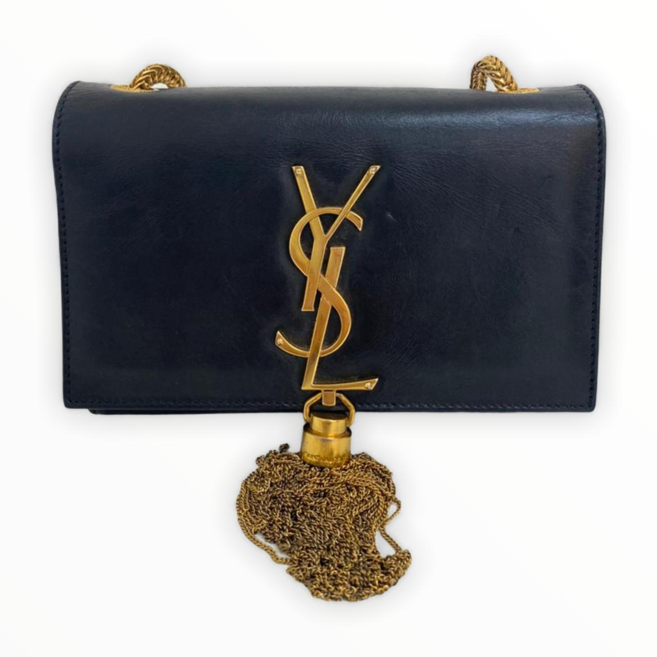 Bolsa Yves Saint Laurent Kate Crossbody Preta