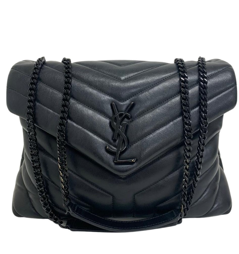 Bolsa Yves Saint Laurent Loulou All Black