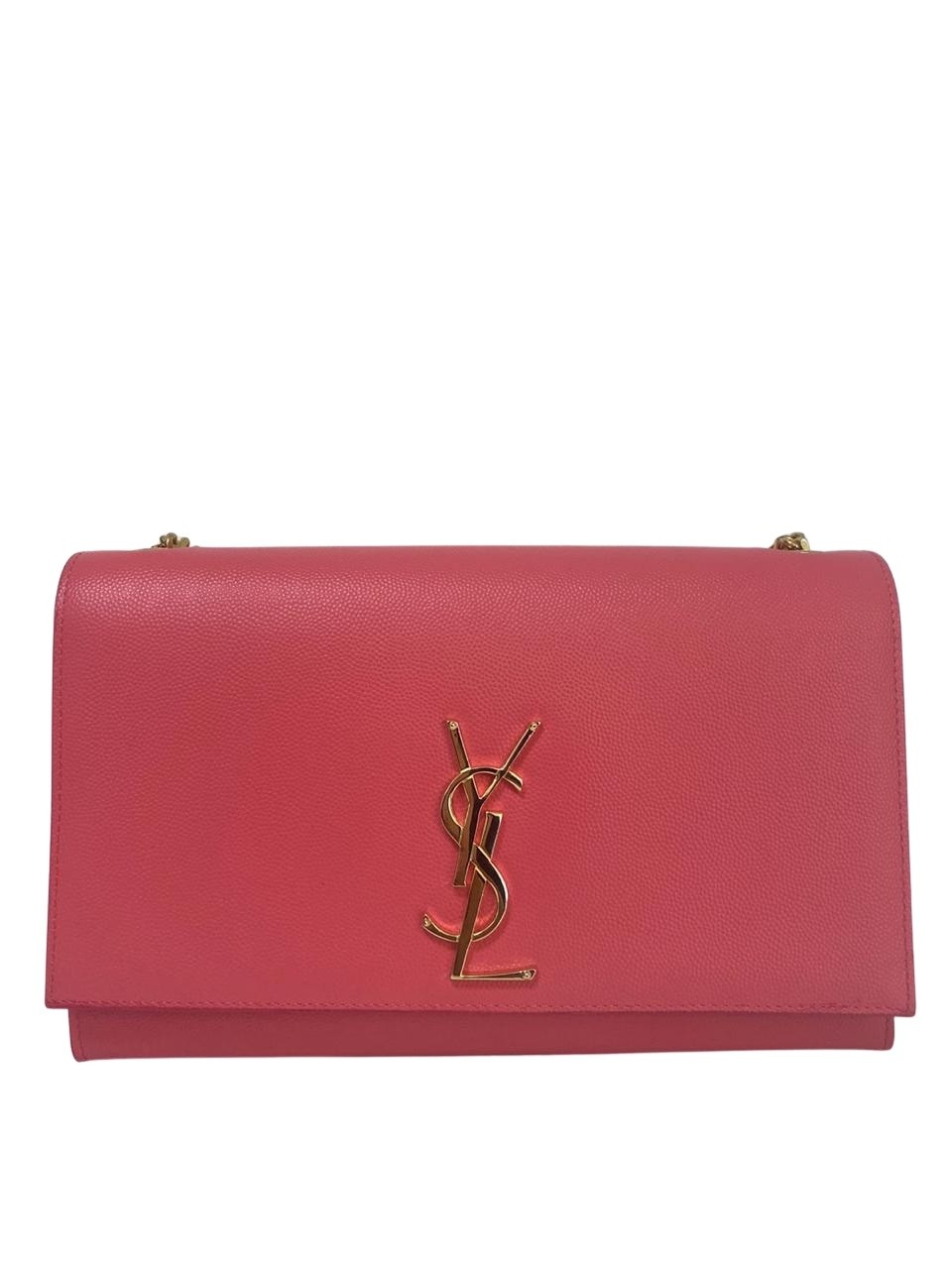 Bolsa Yves Saint Laurent Medium Kate Rosa