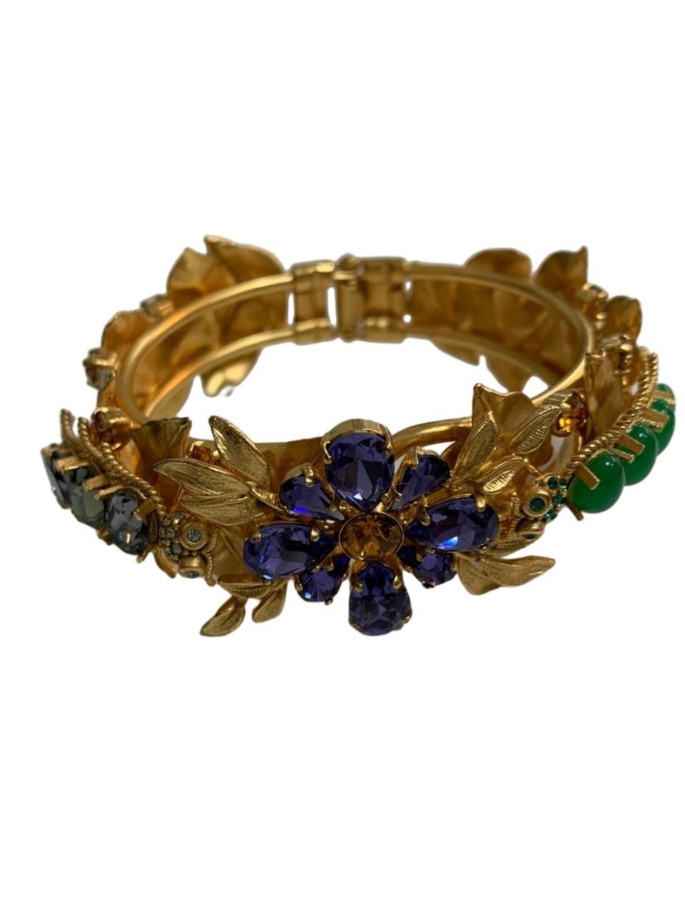 Bracelete Dolce & Gabbana Trabalhado em Pedras