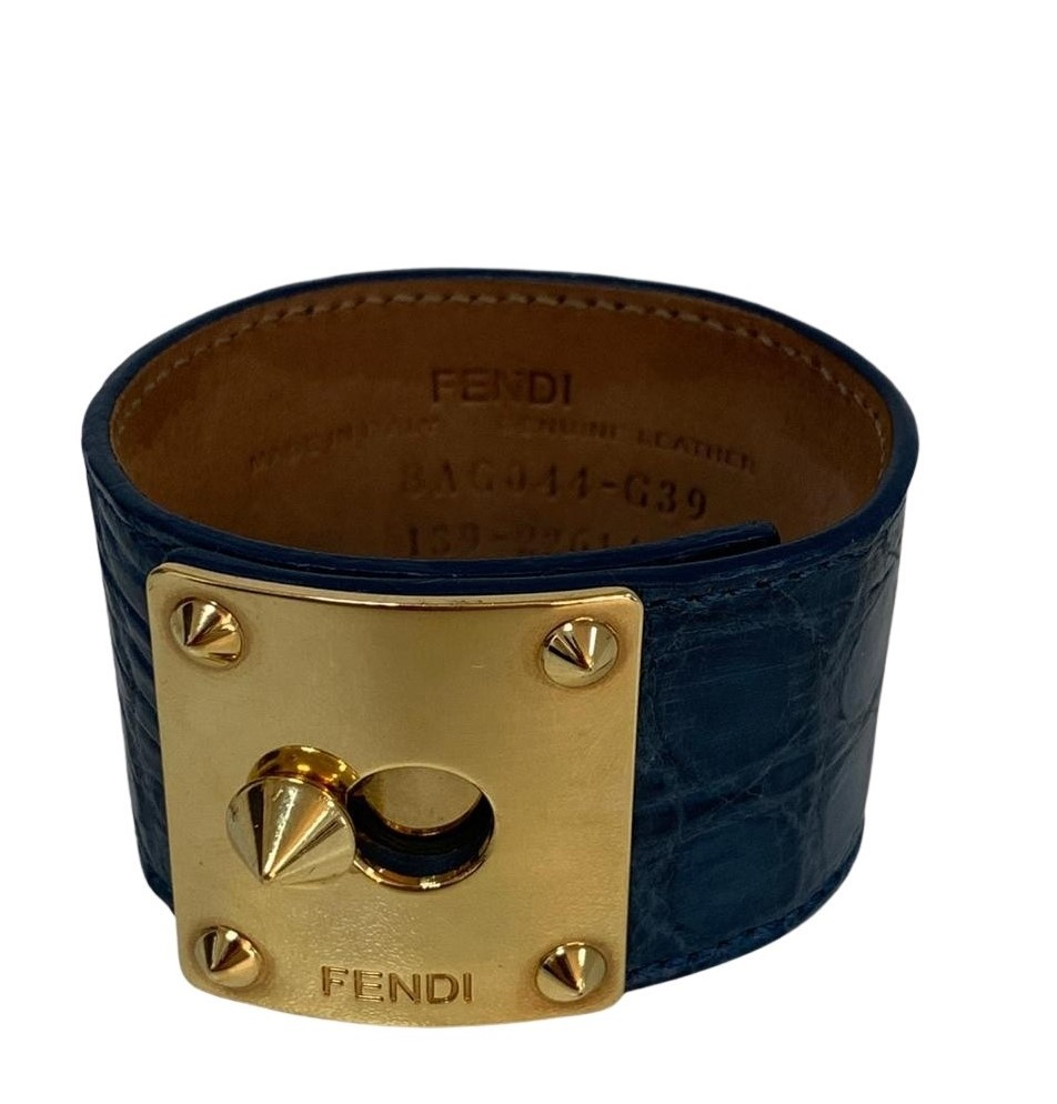 Bracelete Fendi Azul