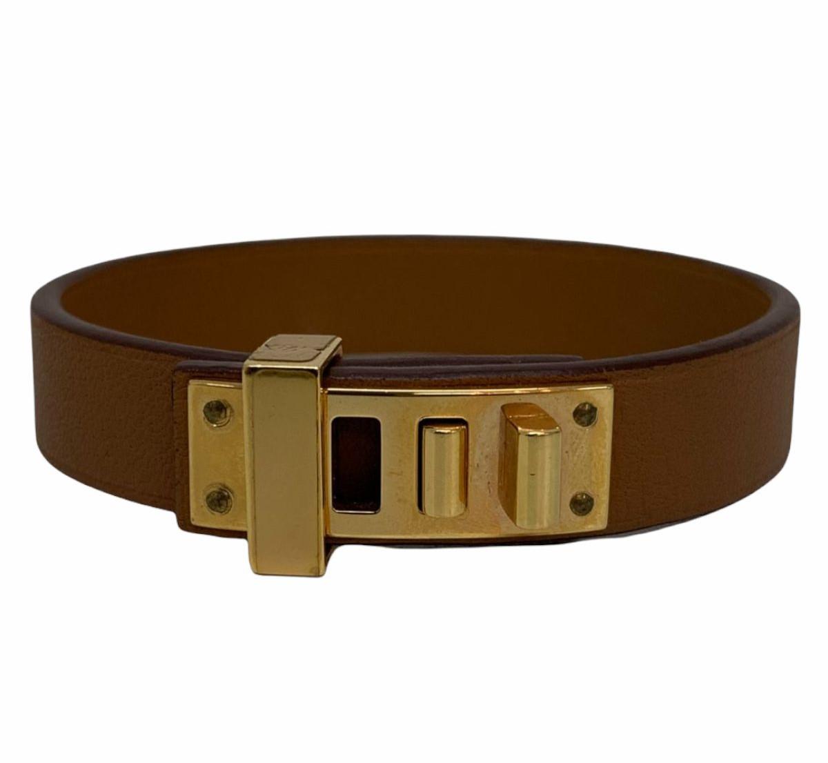 Bracelete Hermès Caramelo