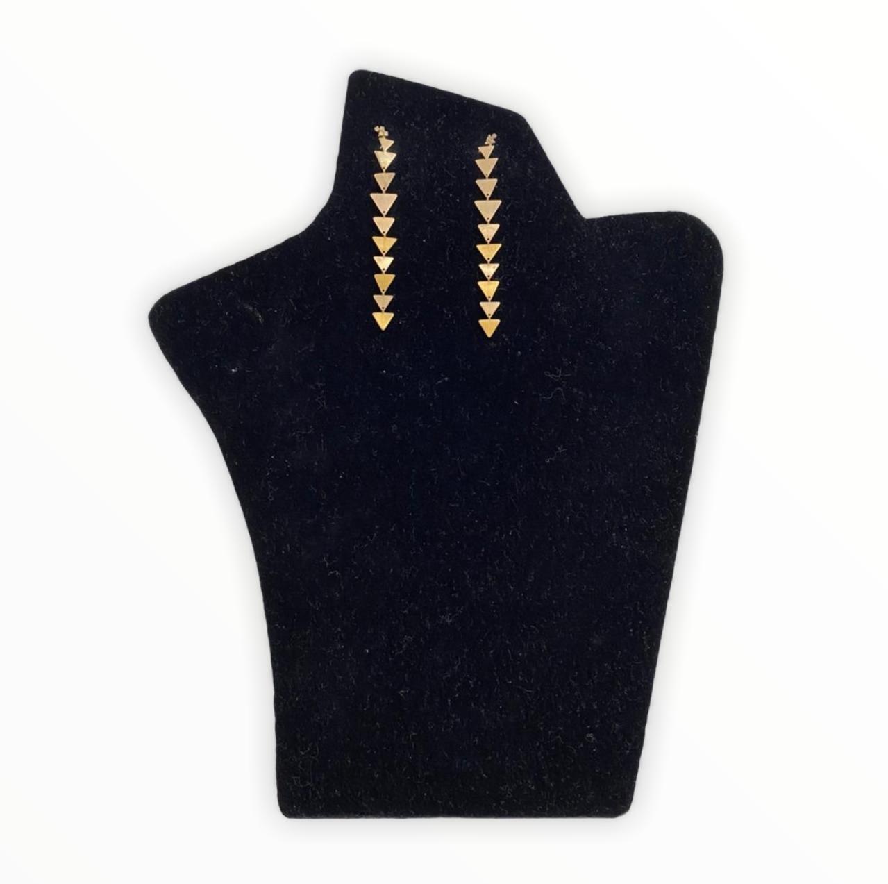 Brinco H. Stern de Ouro Nobre e Ouro Amarelo 18K com Diamantes Cognac