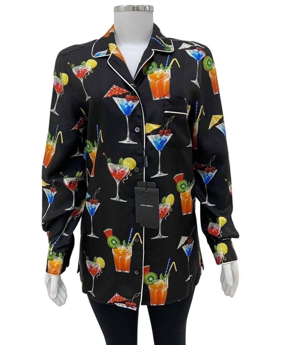 Camisa Social Dolce & Gabbana Preta