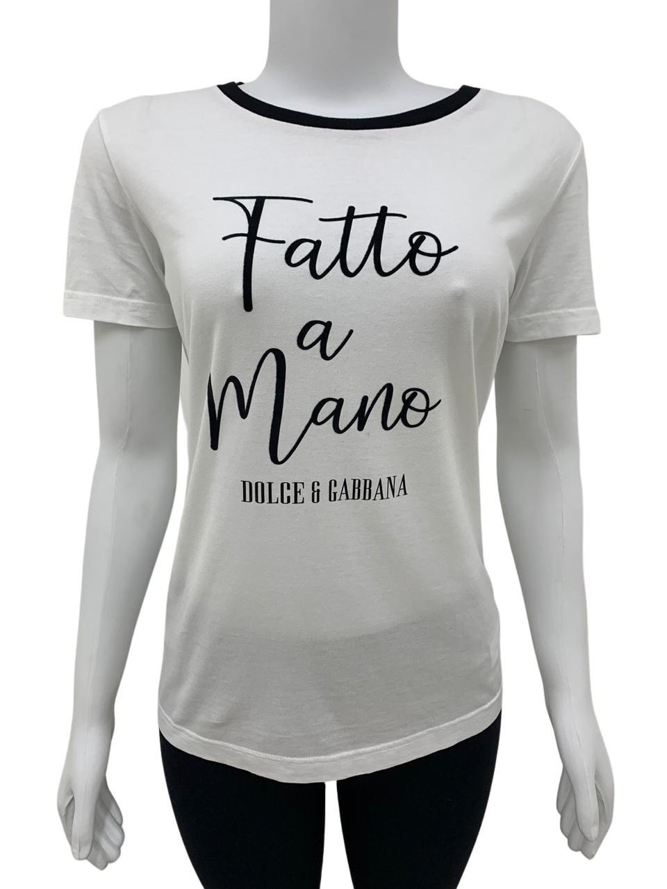 Camiseta Dolce & Gabbana Branca