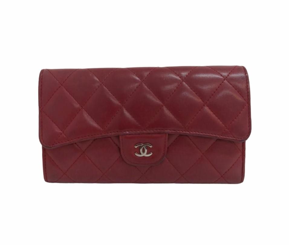Carteira Chanel CC Gusset Classic Flap