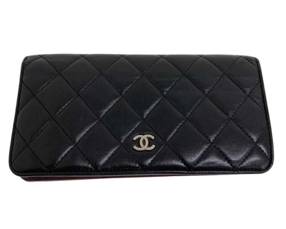 Carteira Chanel Long Wallet Preta