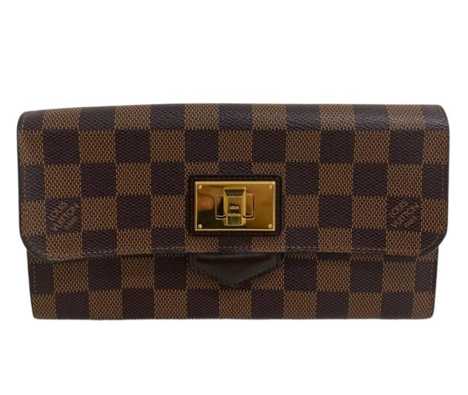 Carteira Louis Vuitton Damier Ébène