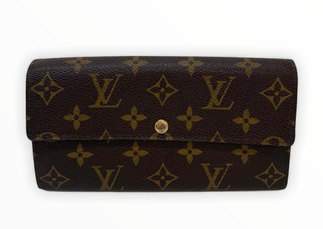 Carteira Louis Vuitton Monogram