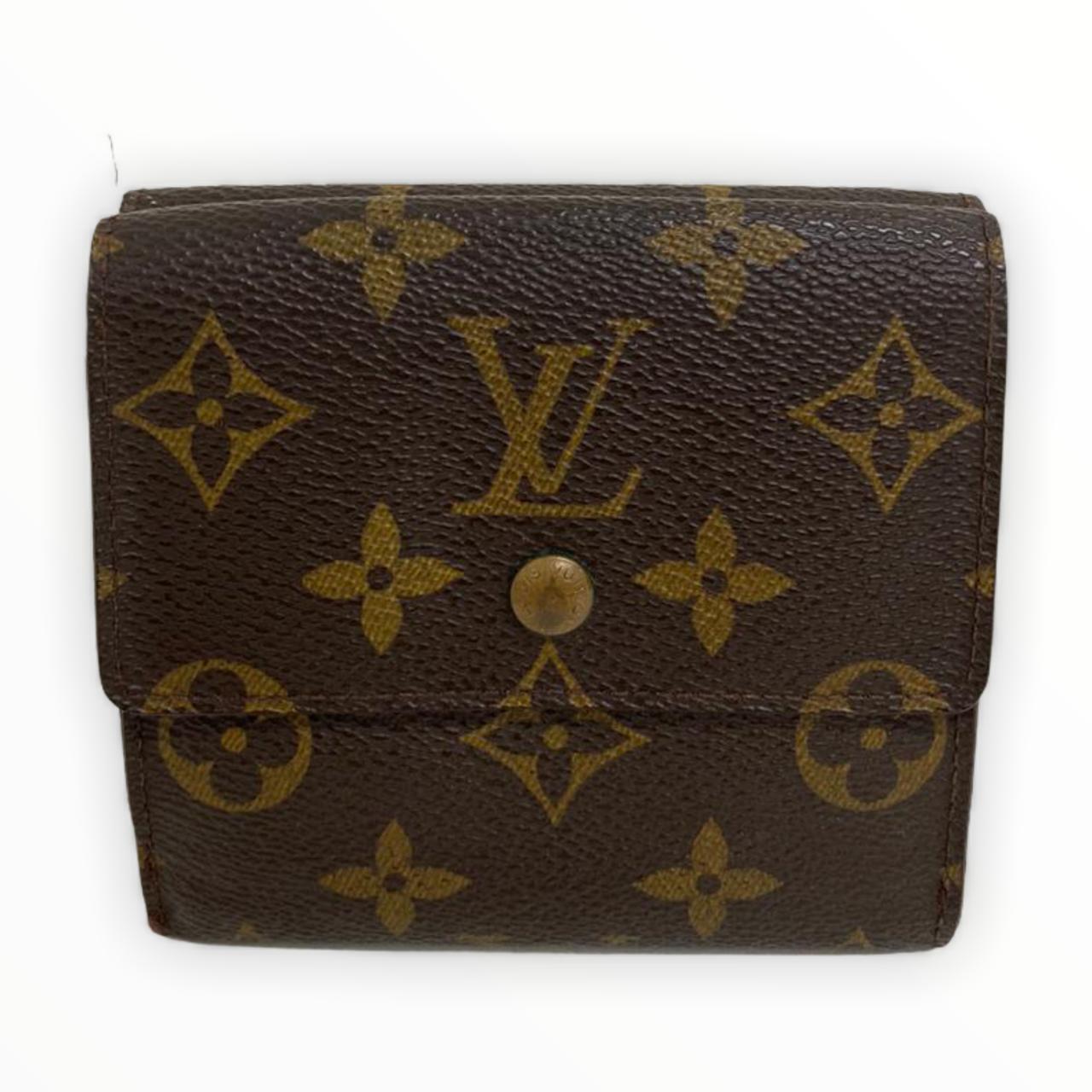 Carteira Louis Vuitton Monogram Porte Monnaie Carte