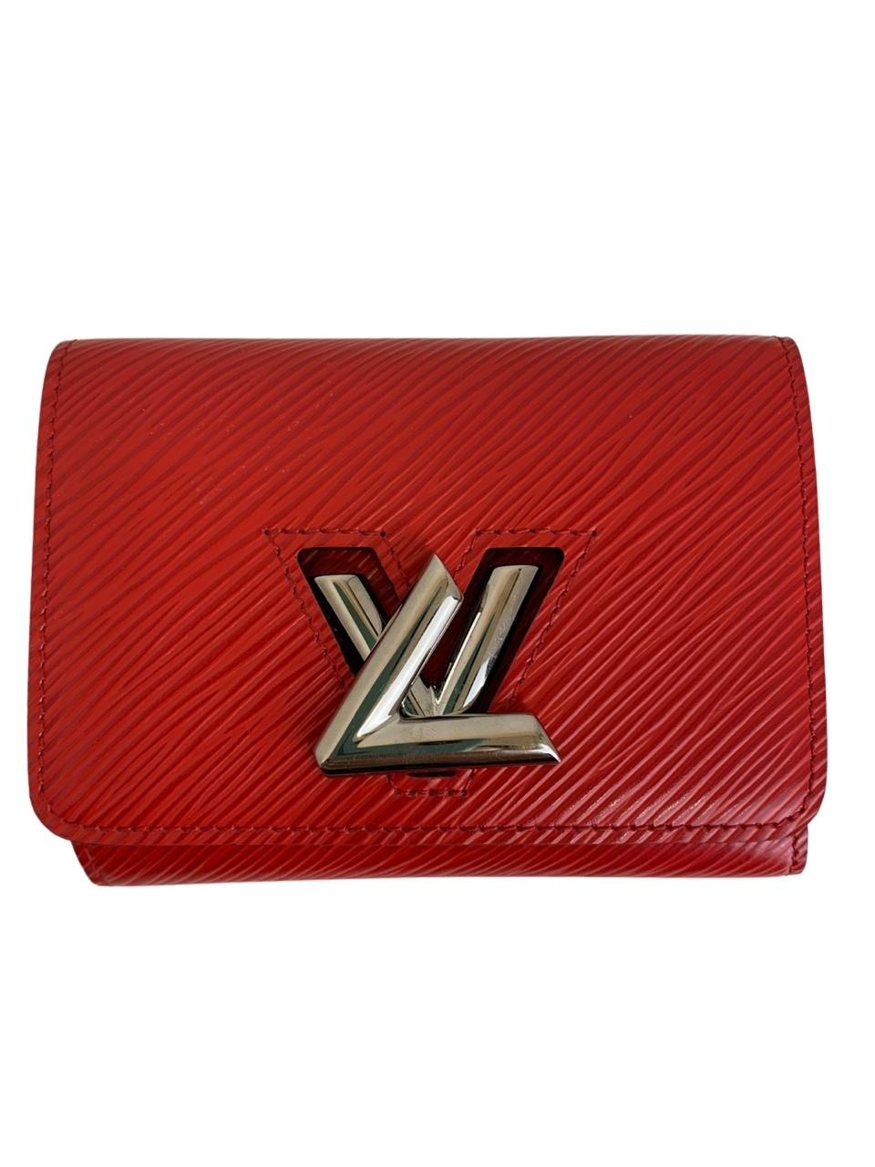 Carteira Louis Vuitton Twist Epi Vermelha