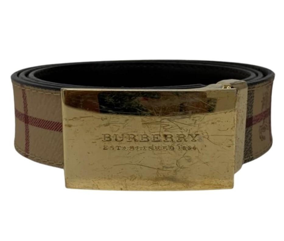 Cinto Burberry Vintage Check
