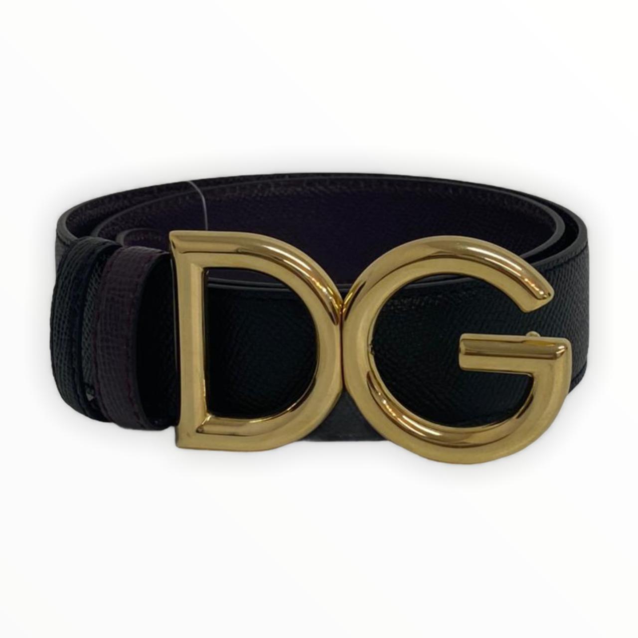 Cinto Dolce & Gabbana Reversible DG Logo