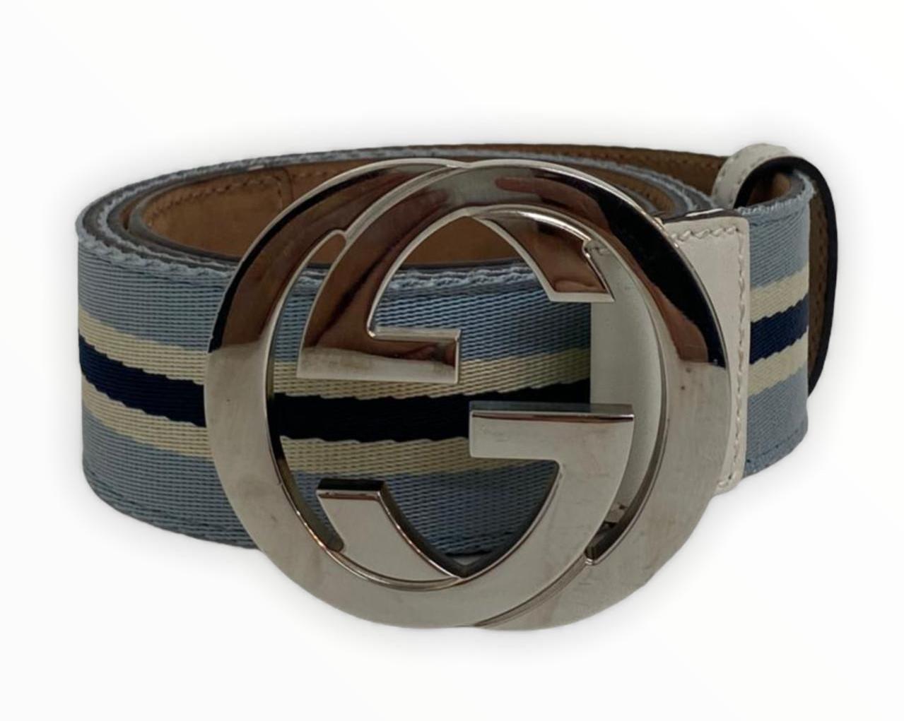 Cinto Gucci Interlocking G