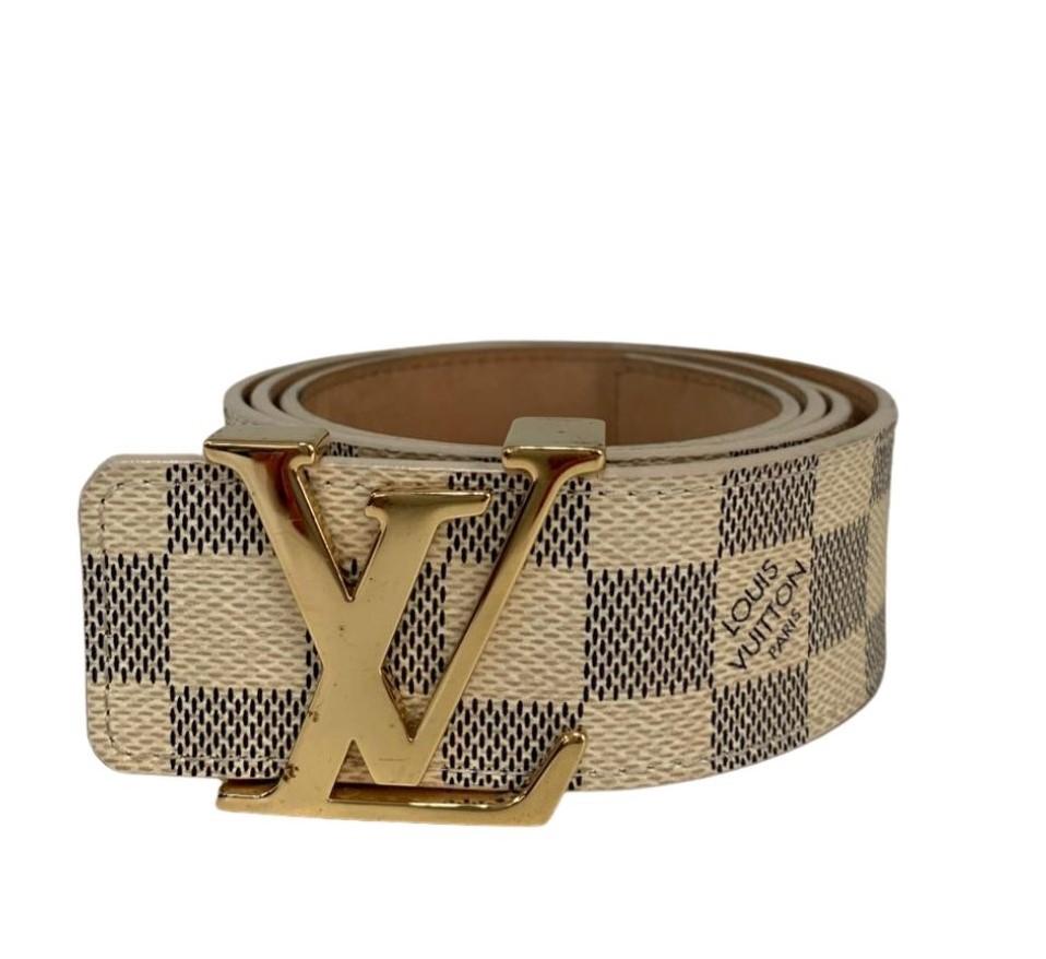 Cinto Louis Vuitton Damier Azur
