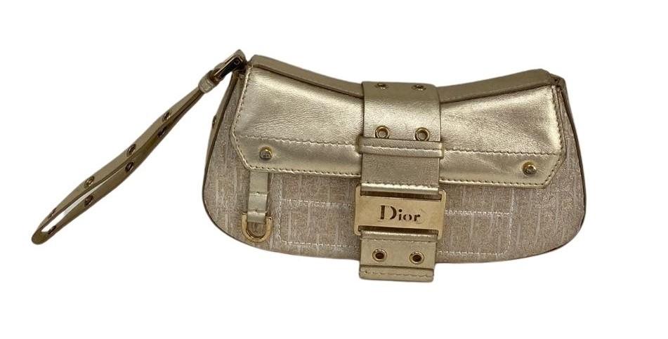 Clutch Dior Dourada