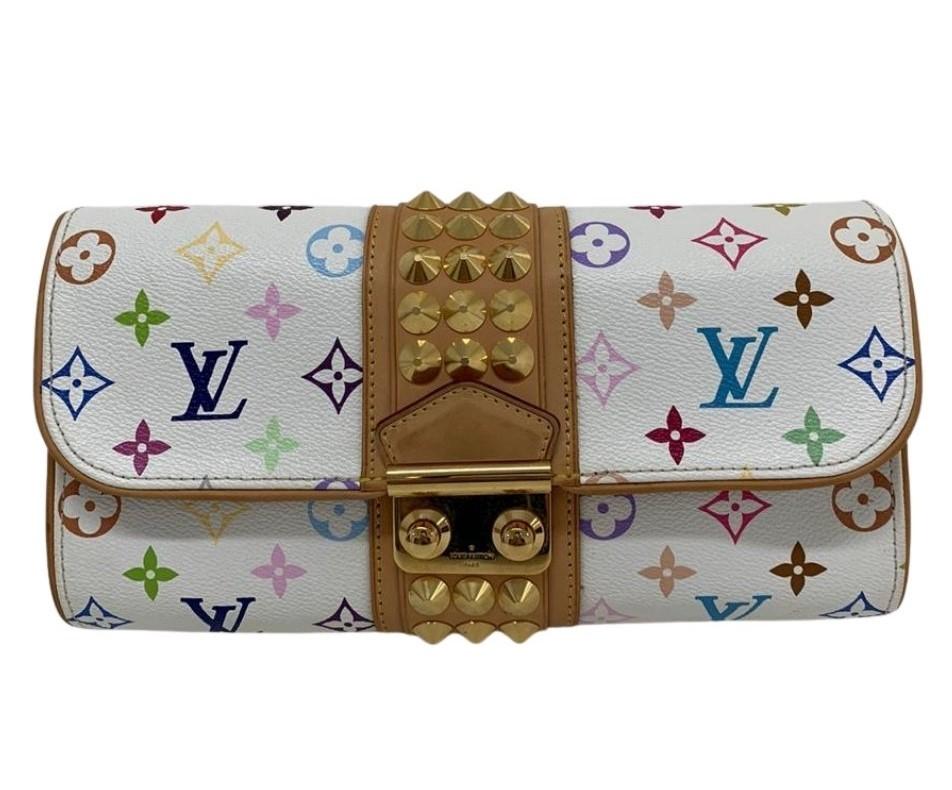 Clutch Louis Vuitton Multicolore