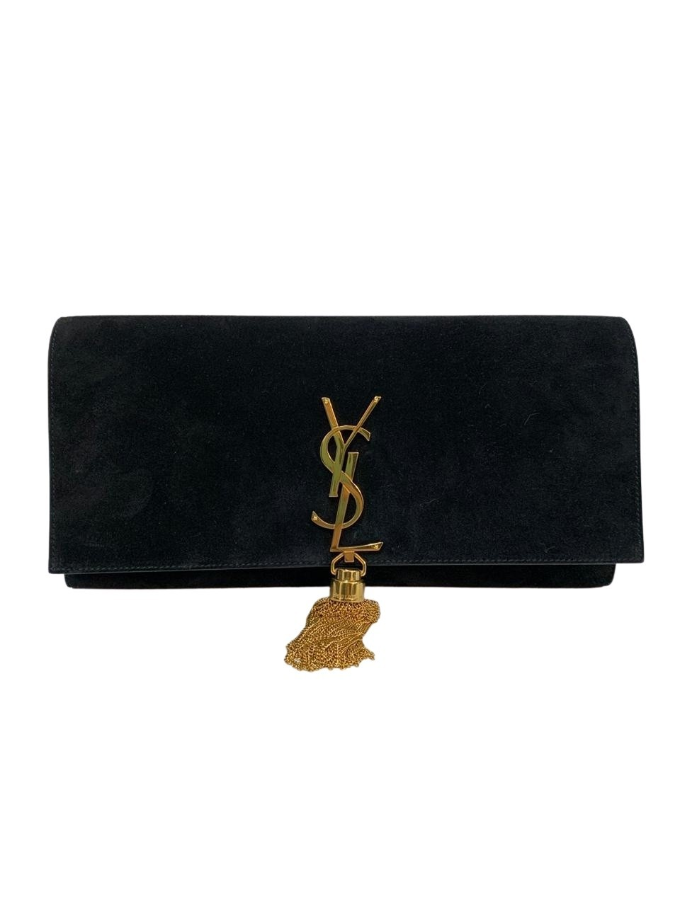 Clutch Yves Saint Laurent Kate Preta