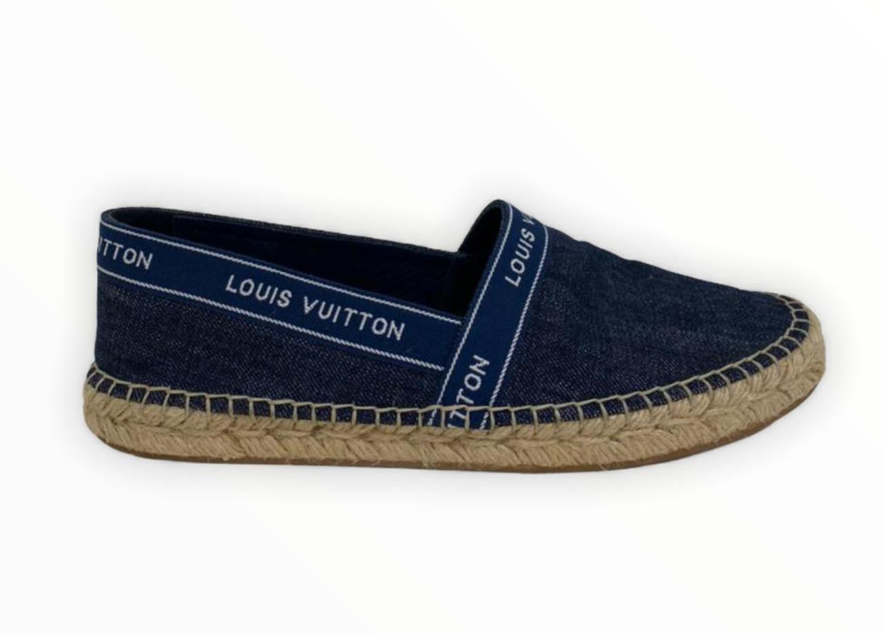 Espadrille Louis Vuitton Blue Denim