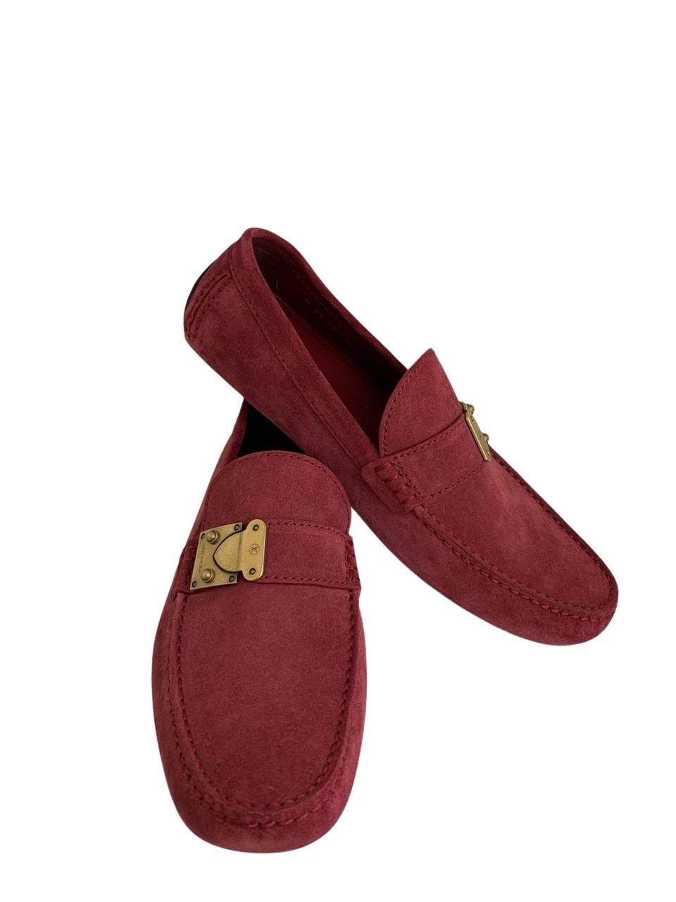 Mocassim Louis Vuitton Vermelho