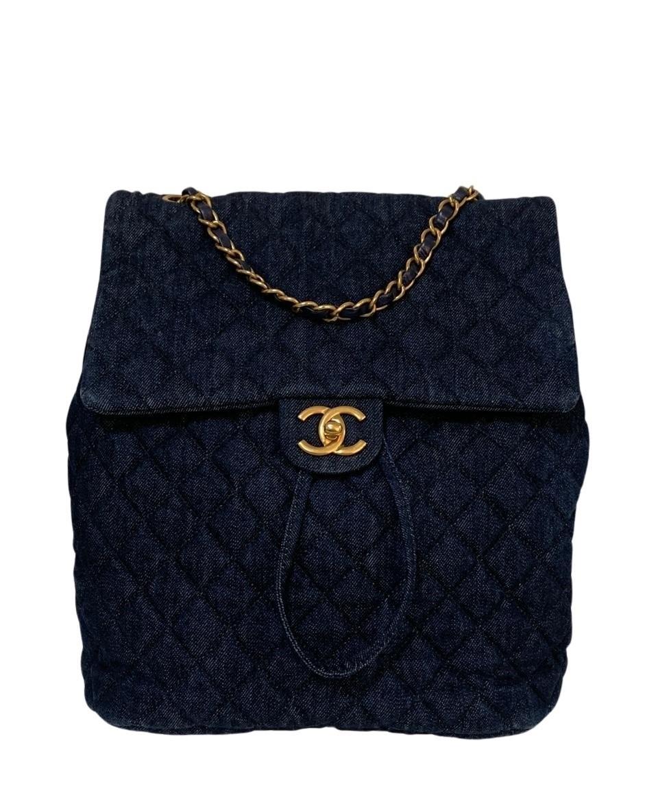 Mochila Chanel Denim Urban Spirit Jeans